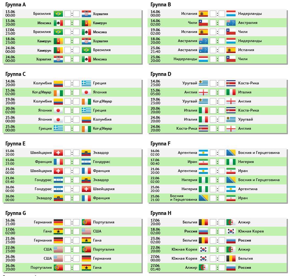 Календарь чм отборочные футбол матчи и результаты 2018 таблица матчей