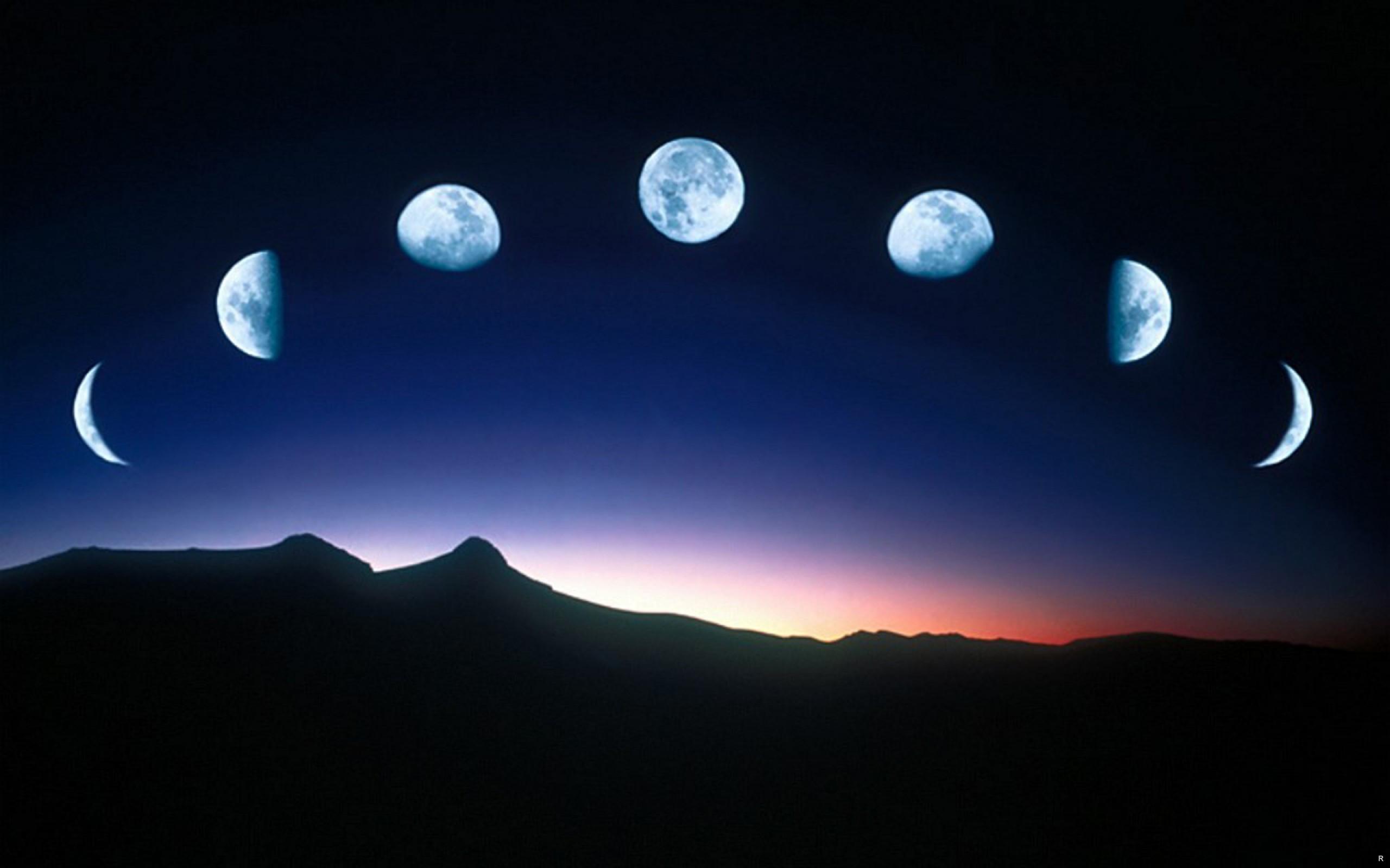 Полнолуние в ноябре 2017 года, лунный цикл на месяц