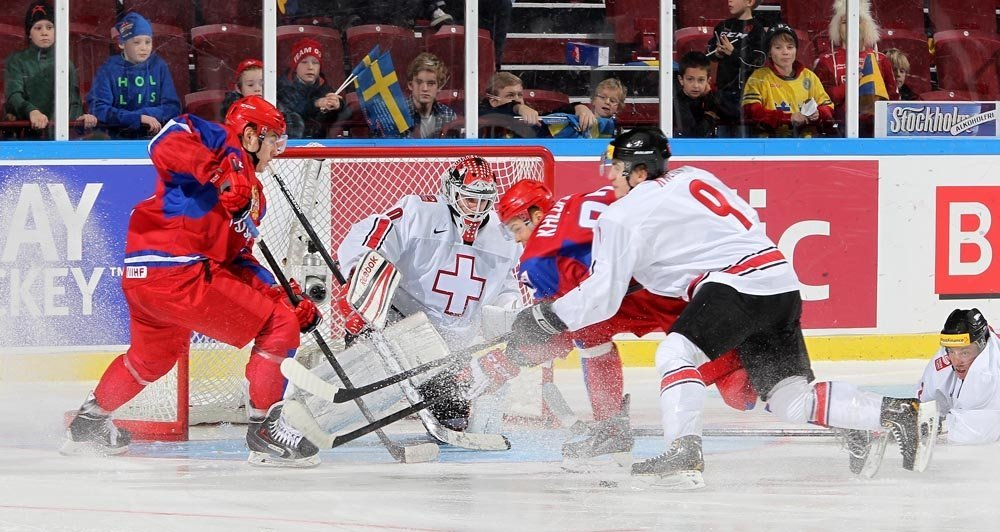 Фото Россия Швейцария хоккей