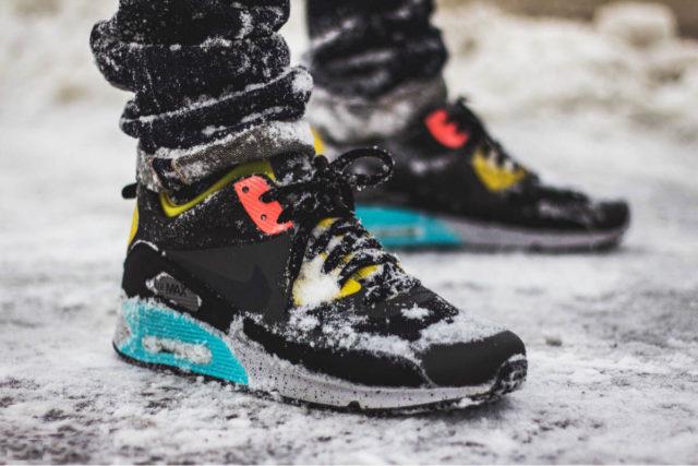кроссовки на зиму