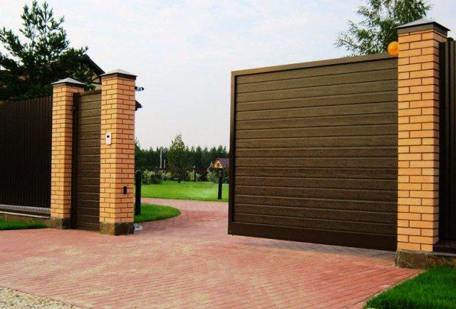 Какие откатные ворота выбрать, автоматические или механические?