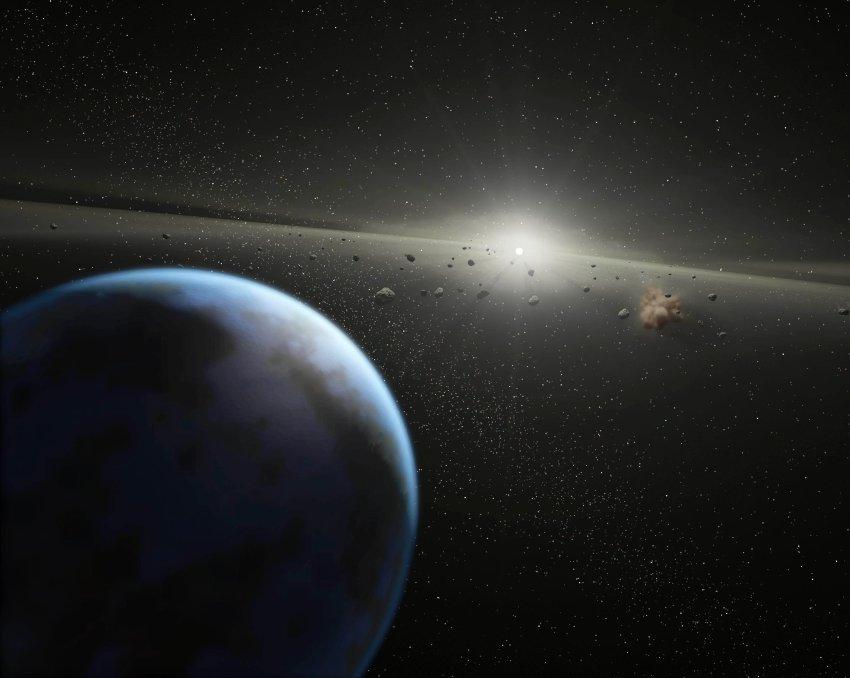 Как часто астероиды долетают до Земли?
