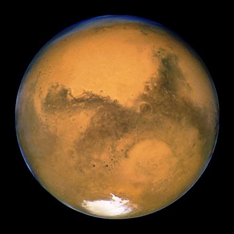 фото Марса космическим аппаратом