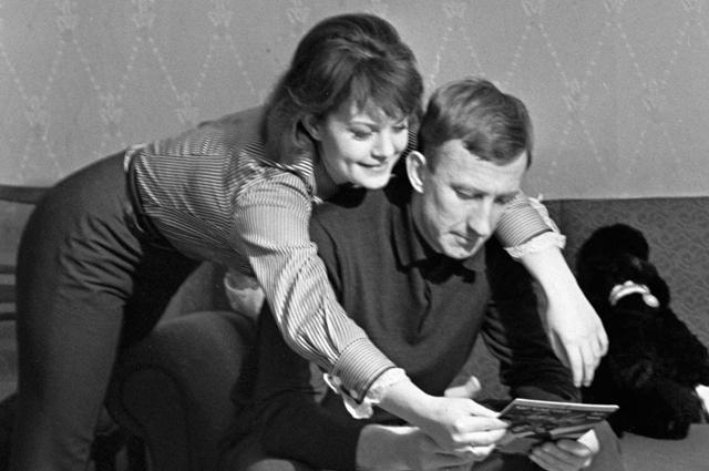 Игорь Нетто с женой
