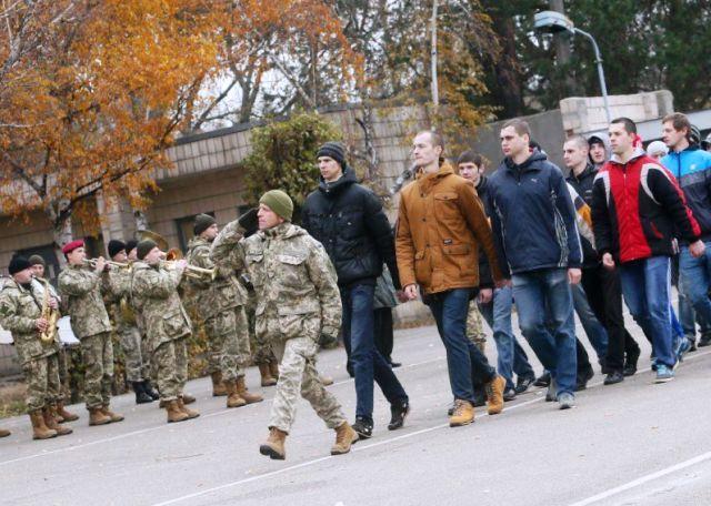 армейский призыв Украина