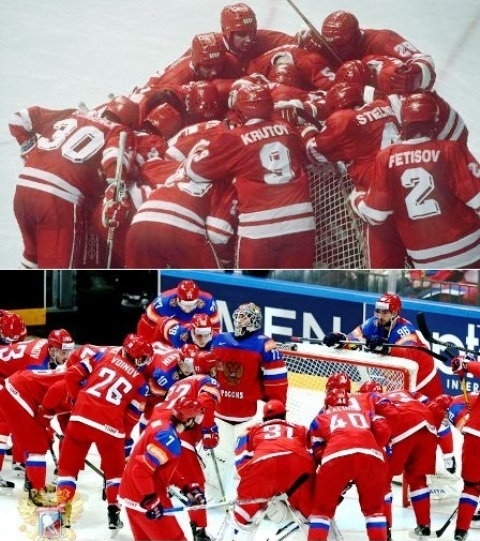 Красная машина хоккей
