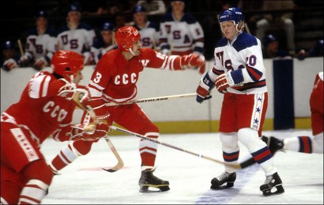 хоккейный матч СССР и США