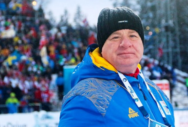 глава украинских биатлонистов