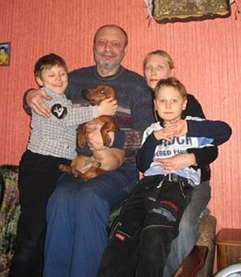 семья Ягубкиных