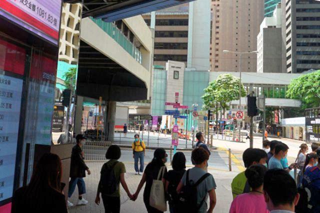 улица Гонконга