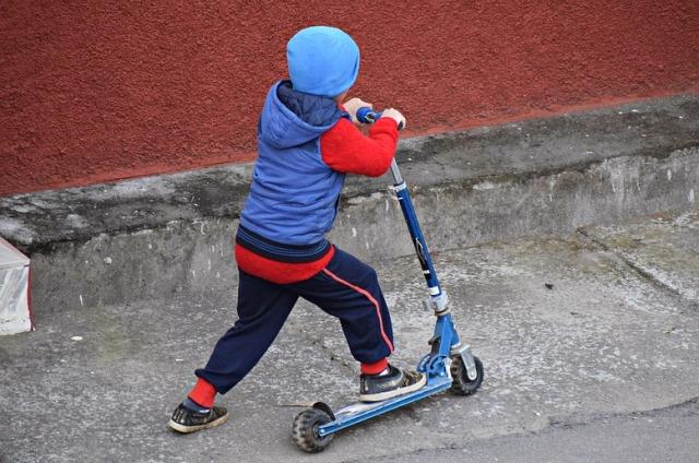 Roadrunner, Wheel, Drive, Child, Road, Bike, Kick