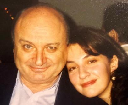 Михаил Жванецкий и дочь
