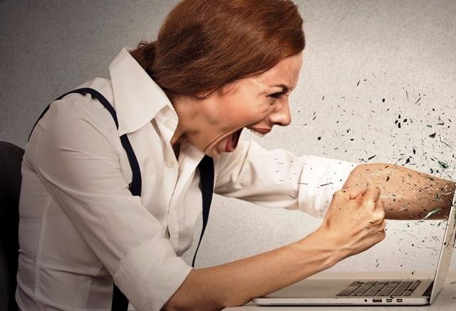 оскорбления в сети