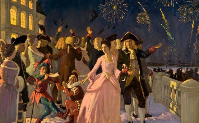 Новый год при Петре 1