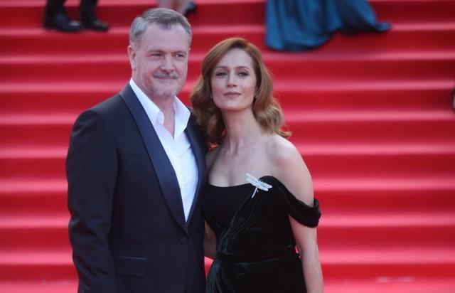 Исакова с мужем