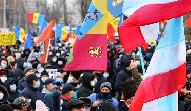 молдавские митинги