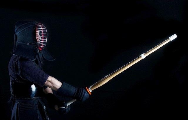 японский фехтовальщик