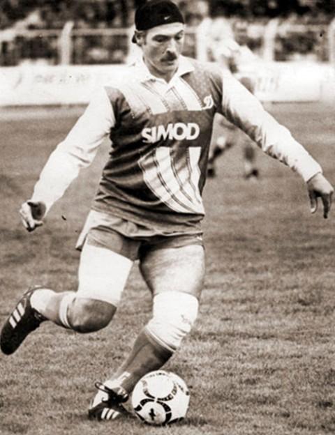 Лукашенко футболист