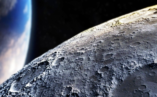 бурение Луны