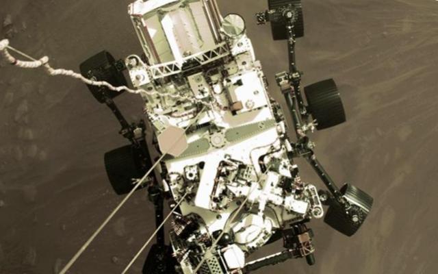 спускаемый марсоход