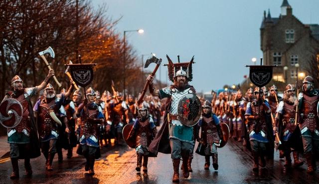 шествие викингов