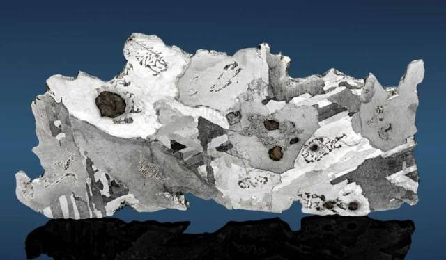 белый метеорит