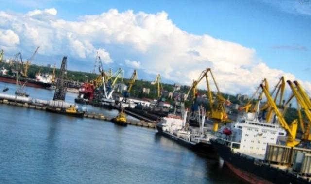 порт в Мариуполе