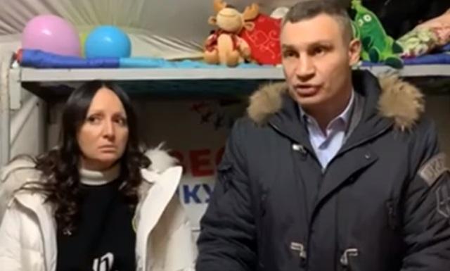 Молчанова и Кличко