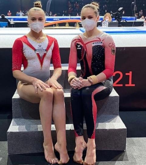 гимнастки девушки
