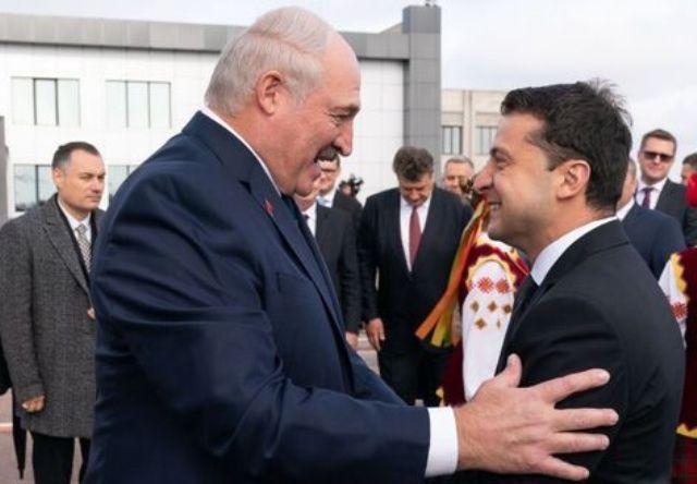 президенты Белоруссии и Украины