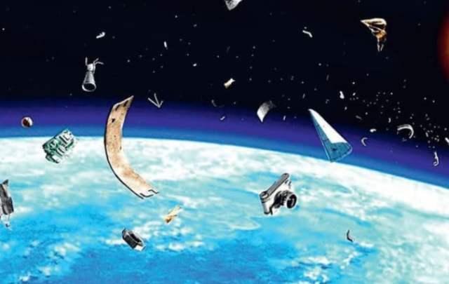 обломки в космосе