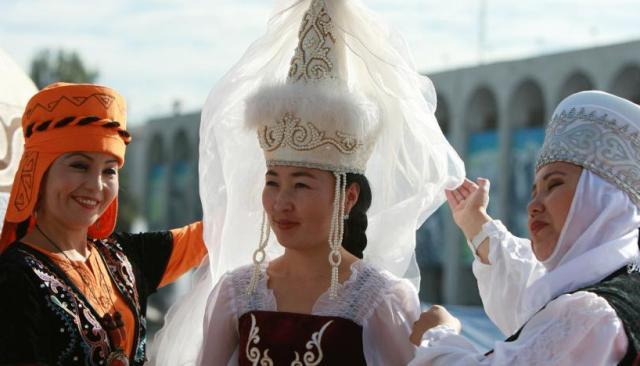 киргизская невеста