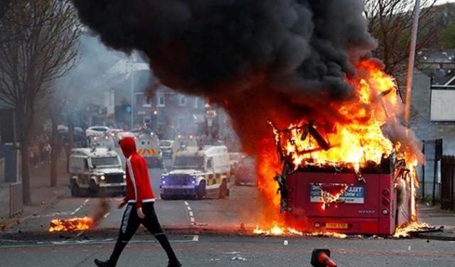 беспорядки на улицах