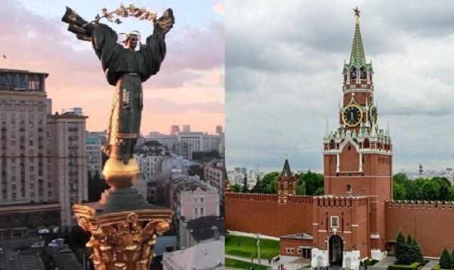 Киев и Москва
