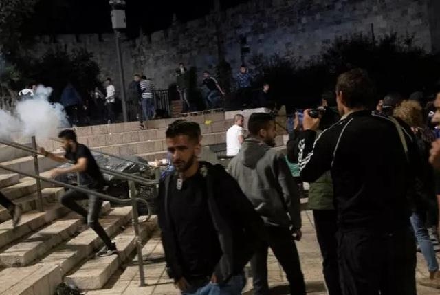 беспорядке в Израиле