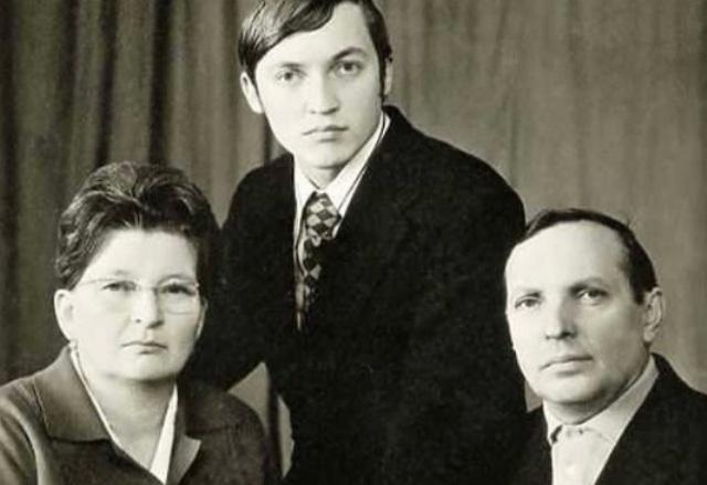 семейное фото Карпова
