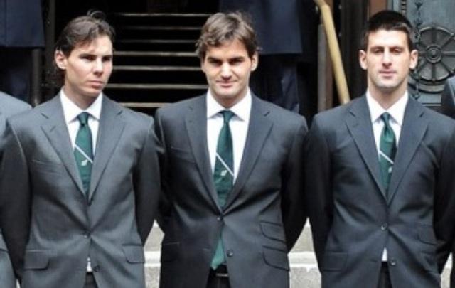 три лучших теннисиста
