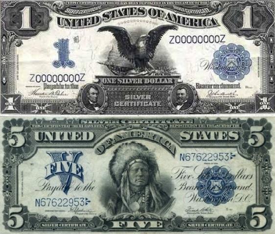 доллары старого образца