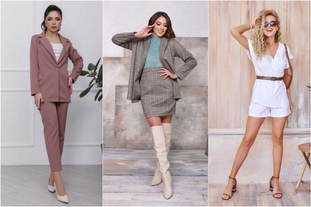стильный образ в одежде