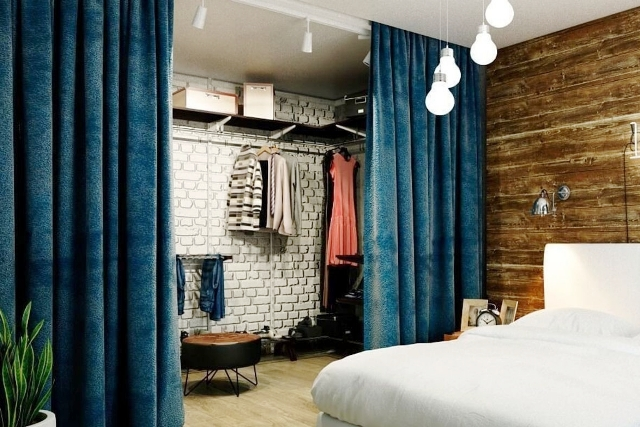 спальня и гардероб