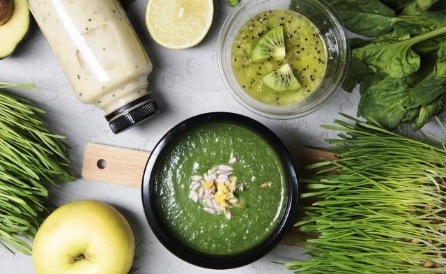 блюда из зелени