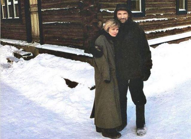 Мамонов с женой