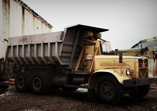 экспериментальный грузовик