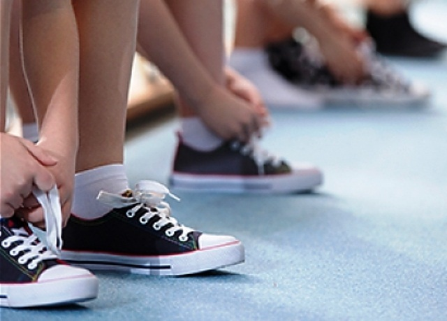 обувь для спортивных занятий