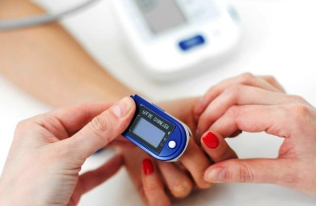 измерение сатурации крови