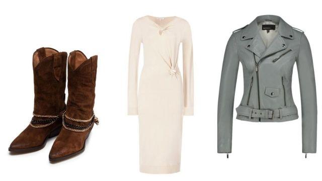 сапоги и коротка куртка