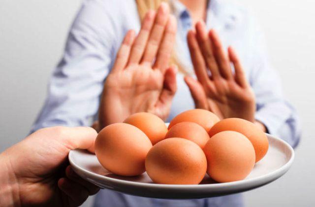 аллергическая реакция на яичный белок