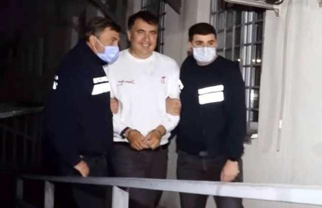 арест Саакашвили